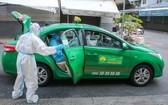 經改造成為救護車的計程車。(圖源:周俊)
