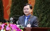 共青團中央執委會第一書記、越南青年聯合會主席阮英俊。(圖源:越通社)