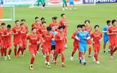 越南國家男足隊。(圖源:互聯網)