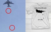 阿富汗人墜機遇難畫面被印成 T 恤