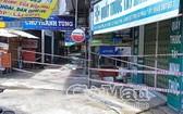 金甌省蝙蝠潭縣清松街市因疫情蔓延而被封鎖。(圖源:金甌報)