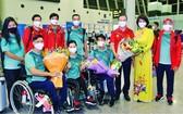 越南體育代表團抵達東京。(圖源:互聯網)