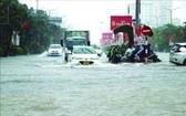 海防市強降雨致多處受淹