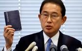 圖為8月26日日本自民黨議員岸田文雄在東京出席記者會,公佈將參加黨總裁選舉。 (圖源:路透社)