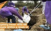 印度北方邦西部的部分地區,在過去一週已有68人死於不明原因發熱,其中包括40名兒童。(圖源:Sputnik)