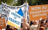 自8月9日起,在法國進入餐館、咖啡館等餐飲場所必須出示健康通行證,未能出示健康通行證的顧客應被拒絕入內。(圖源:互聯網)