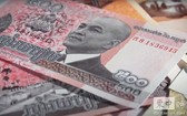 圖為 2015年1月14日發行面值500瑞爾鈔票。(圖源:柬中時報)