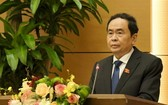國會常務副主席陳清敏在會上致開幕詞。(圖源:VOV)