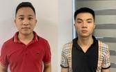 被扣押的兩名嫌犯黃春祿(左)和何進山。(圖源:警方提供)