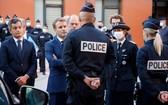 本月1日法國總統馬克龍到訪馬賽,承諾改善當地治安。(圖源:AFP)
