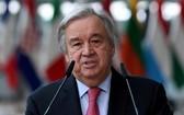 聯合國秘書長古特雷斯呼籲各國團結一致,共同抗議與解決氣候變化問題。 (圖源: 路透社)