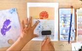 線上學畫畫  在家找樂趣
