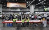 2021年香港特別行政區選舉委員會界別分組一般選舉投票於9月19日下午6時結束。 (圖源:新華社)