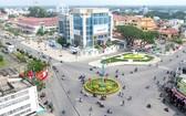 檳椥市中心一景。(圖源:同起報)