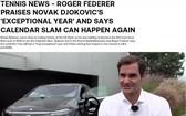 費德勒不退役將在2022年複出。(圖源:互聯網)