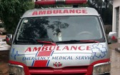 假救護車載人從本市返回富安省導致疫情傳播。 (照片由富安省綏和市公安科提供)。