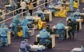 本市開展大規模的新冠疫苗接種。(圖源:HCDC)