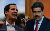 委內瑞拉總統馬杜羅(右圖)與反對派領導人瓜伊多。(圖源:互聯網)