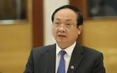 河內市人委會原副主席阮世雄被警告紀律處分。(圖源:智勇)