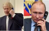 俄羅斯總統普京25日與英國首相約翰遜通電話,就雙邊關係和阿富汗局勢等國際熱點問題進行了討論。(示意圖源:互聯網)