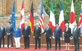 出席G7峰會領導人合照。(圖片來源:互聯網)