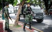 泰國軍隊士兵。(圖片來源:互聯網)
