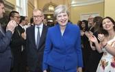 英國首相特雷莎‧梅會下台?(圖片來源:互聯網)