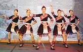 來自廣西的少女表演民族舞蹈。(圖片來源:仁建)