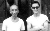 李小龍與葉問師傅合照(圖片來源:互聯網)