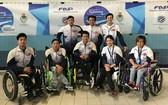 越南殘疾人隊。