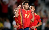 西班牙主場6比0大勝克羅地亞。