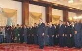 原總書記杜梅弔唁與追悼儀式在統一會場舉行