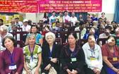 """福慧慈善組於昨(22)日在第十一郡醫院高科技眼科舉辦""""給貧困視障者帶來光明""""慈善活動。"""