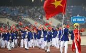 越南體育代表團參加東運會(資料圖)。