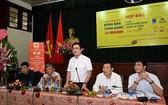 《人民報》副總編輯、賽事組委會主任桂廷原在會上發言。