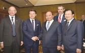 政府總理阮春福昨(6)日上午在河內與意大利總理朱塞佩‧孔蒂共同主持了意大利與東盟(東協)企業論壇。論壇吸引了來自意大利和東盟地區逾300家企業和150多家越南企業參加。