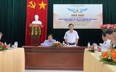 平定省第七屆傳統武術國際聯歡會新聞發佈會場景。