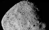 小行星101955(貝努)的合成圖像,來自美國國家航空航天局的OSIRIS-Rex探測器。