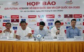 5人制足球賽事新聞發佈會。