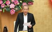 黨中央政治局委員、政府常務副總理張和平。(圖源:TTXVN)