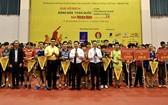 全國乒乓球錦標賽開幕式。