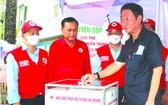 茶山慶雲南院住持周華邦贊助善款1億元。