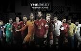 國際足聯公佈了年度最佳候選名單。
