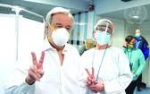 聯合國秘書長古特雷斯接受了新冠疫苗接種。
