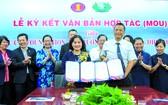市人文社科大學昨(12)日上午在該大學會議室與台灣佛教慈濟基金會簽署合作備忘錄。