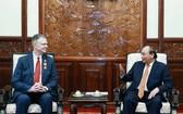 國家主席阮春福接見了丹尼爾大使。