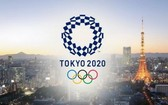 東京奧運會橫幅。