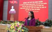 國家副主席檢查林同省選舉工作