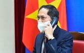 外交部長裴清山昨(28)日與美國外交官安東尼‧布林肯互通電話。