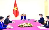 本月1日晚上,政府總理范明政與古巴總理曼努埃爾‧馬雷羅‧克魯斯互通電話。